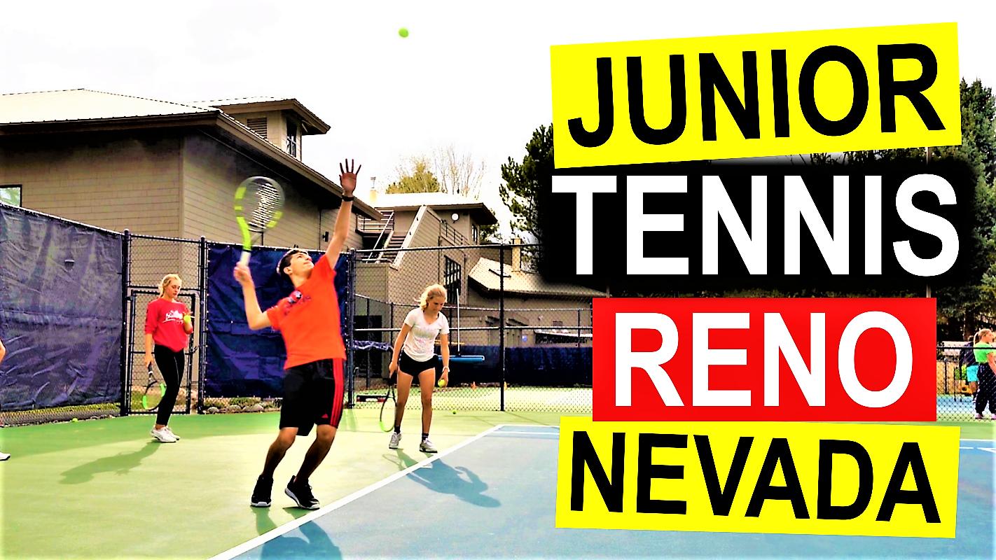 Caughlin Athletic Club Junior Programs. Tennis Reno Nevada.